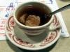 Liver dumpling soup (polevka z jatrove knedlicky)