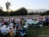 The near-capacity festival crowd