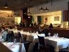 Indoor dining at Chaya Downtown
