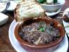 A cheezy Kobe beef casserole