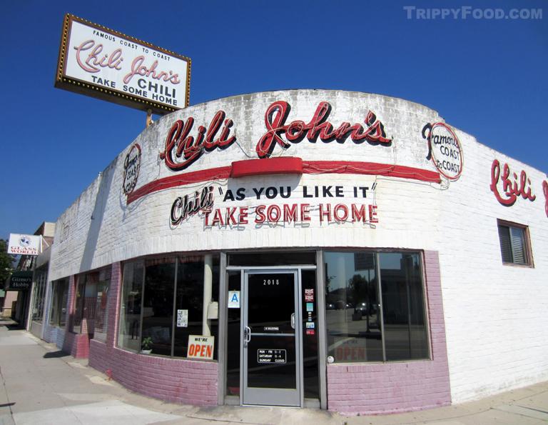 Chili Johns Burbank Ca Trippy Food