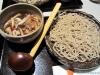 Soba with mushroom and white truffle tsuyu