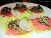 Delicate tuna crudo