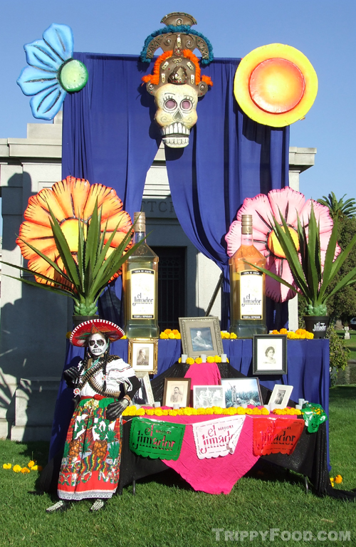 El Jimador tequila representing the dead