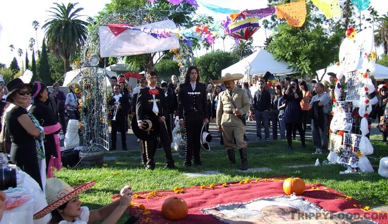 A mariachi memorial