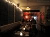 The original restaurant with chalkboard menu