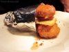 Joe Beef's signature dish, the Foie Gras Double Down