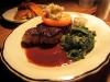 The classic strip loin steak