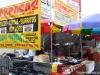 Pupusas for sale at the San Fernando Festival