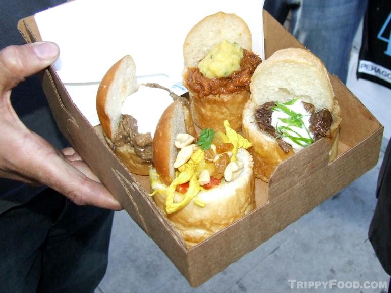 World Fare Bustaurant Trippy Food