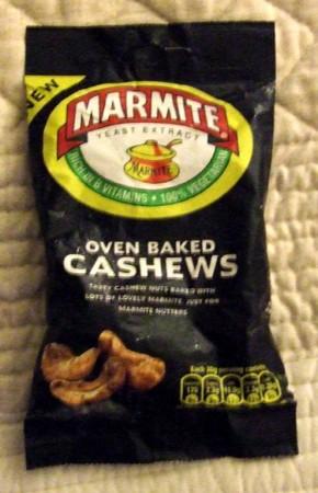 Marmite cashews, a good entry point