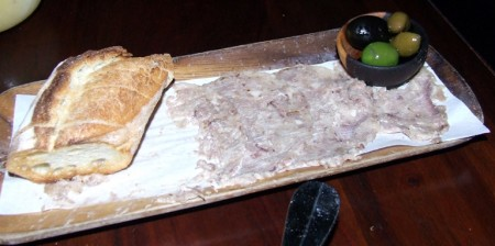 Your basic head cheese feast