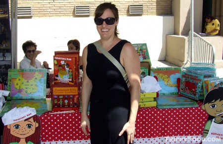 Yvette Garfield, Handstand Kids Cookbook Company