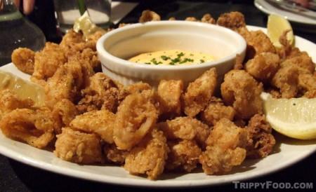 A tapas standard - fried calamari
