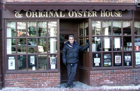 At Boston's oldest restaurant, Union Oyster House