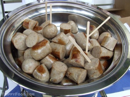 Danish medisterpølse sausage from Paulas Pancake House