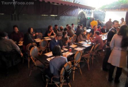 The L.A. Gastronauts prepare for a Cajun feast