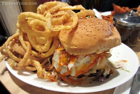 The Chef Todd Fisher burger