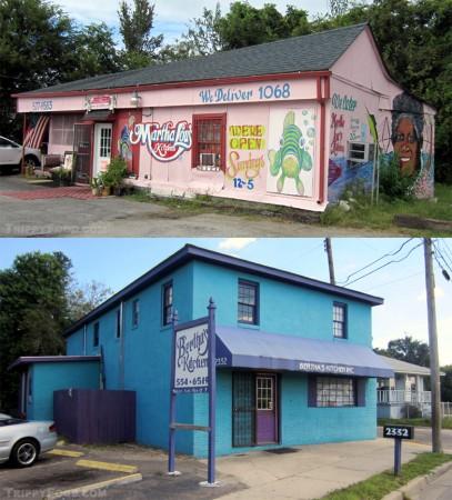 Martha Lou's Kitchen and Bertha's Kitchen in Charleston SC