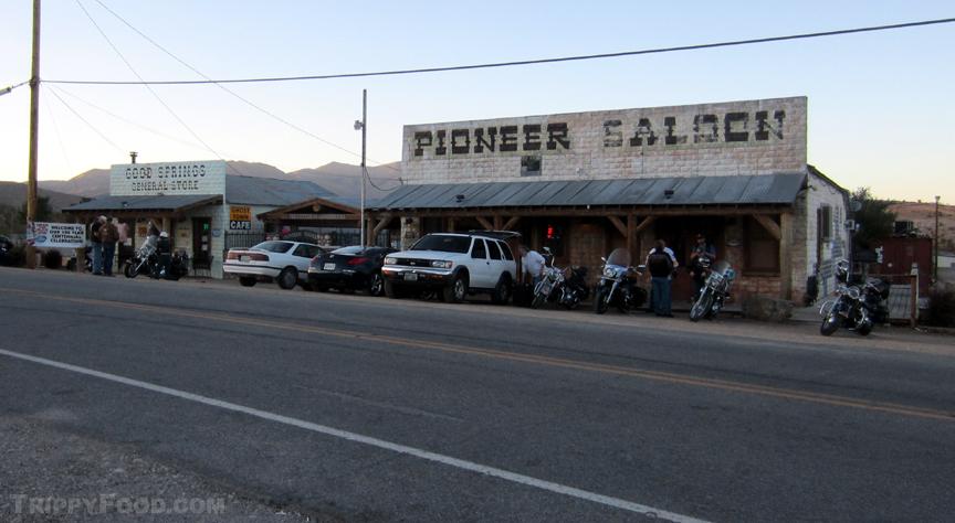 Goodsprings' historic Pioneer Saloon and General Store