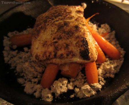 """Campfire carrots"" for dessert"