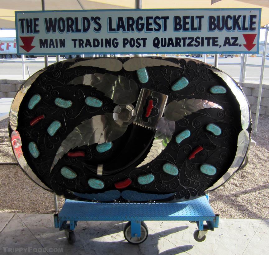 Paul Bunyan's belt buckle