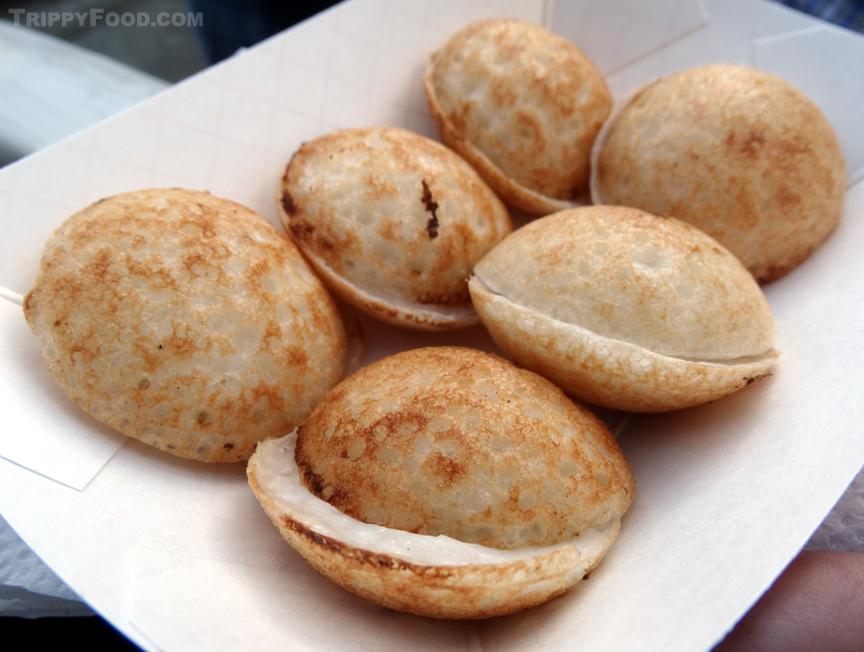 Golden orbs of coconut joy